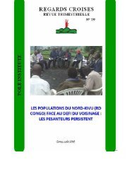 Les populations du Nord-Kivu _RD Congo_ face au ... - Pole Institute
