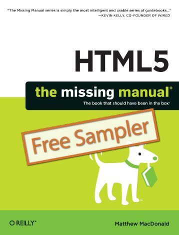 HTML5: The Missing Manual - Cdn.oreilly.com