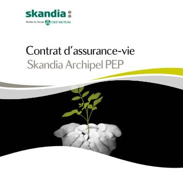 Contrat d'assurance-vie Skandia Archipel PEP