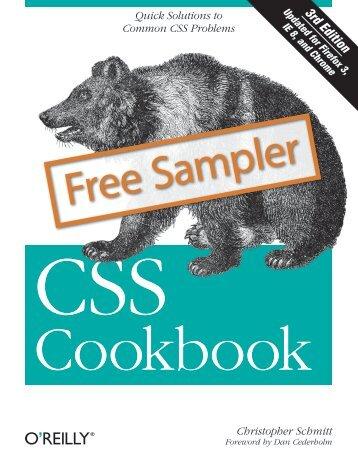 CSS Cookbook - Cdn.oreilly.com