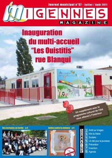 Juillet / Août 2011 - Migennes