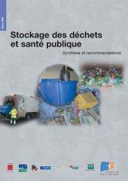 Stockage des déchets et santé publique - Afsset
