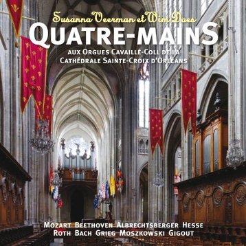 Quatre-mainS - Susanna Veerman