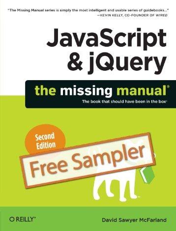 JavaScript & jQuery: The Missing Manual, Second ... - Cdn.oreilly.com