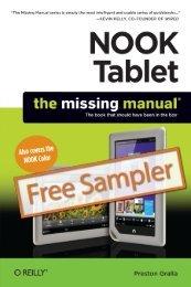 NOOK Tablet: The Missing Manual - Cdn.oreilly.com