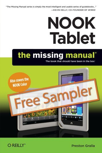 NOOK Tablet: The Missing Manual - Cdn.oreilly.com