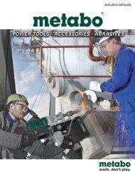 2012/2013 CATALOG - Metabo