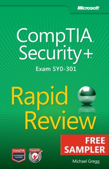 CompTIA® Security+™ Rapid Review (Exam SY0 ... - Cdn.oreilly.com