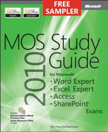 MOS 2010 Study Guide for Microsoft Word Expert ... - Cdn.oreilly.com