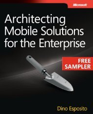 Architecting Mobile Solutions for the Enterprise - Cdn.oreilly.com