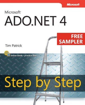 Microsoft ADO .NET 4 Step by Step - Cdn.oreilly.com