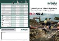 Baustellenpumpen - Metabo