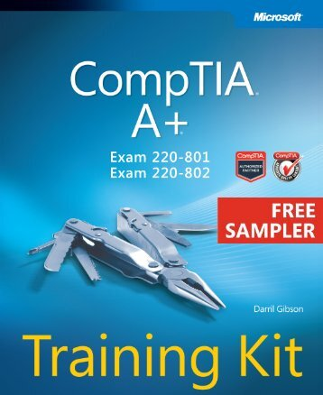 CompTIA® A+® Training Kit (Exam 220-801 and ... - Cdn.oreilly.com