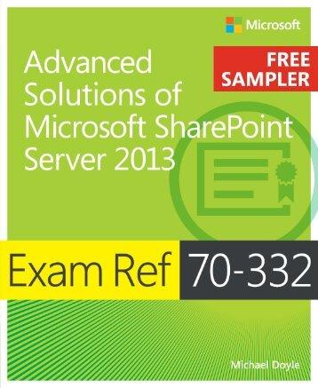 Exam Ref 70-332 - Cdn.oreilly.com