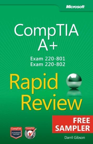 CompTIA A+ Rapid Review (Exam 220-801 and ... - Cdn.oreilly.com