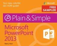 Microsoft PowerPoint 2013 Plain & Simple - Cdn.oreilly.com