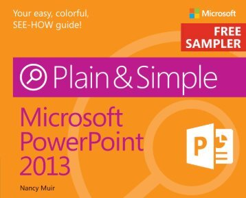 Microsoft PowerPoint 2013 Plain & Simple - Cdn.oreilly.com