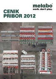 cenik pribor 2012 cenik pribor 2012 - Metabo