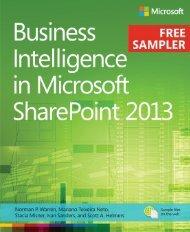 Business Intelligence in Microsoft SharePoint 2013 - Cdn.oreilly.com