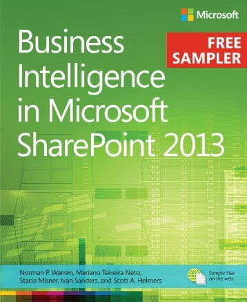 Business Intelligence in Microsoft SharePoint 2013 - Cdn.oreilly.com