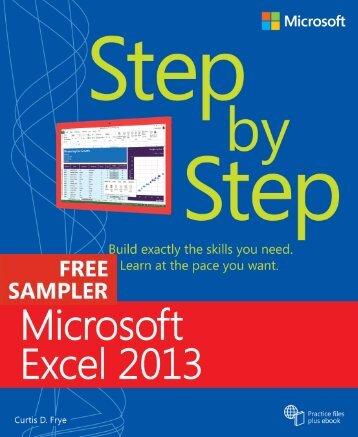 Microsoft Excel 2013 Step by Step - Cdn.oreilly.com