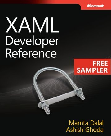 XAML Developer Reference - Cdn.oreilly.com - O'Reilly