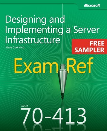 Exam Ref 70-413: Designing and Implementing a ... - Cdn.oreilly.com