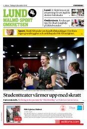 SDS-master 5.0.18 - Sydsvenskan