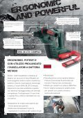 Tassellatori a batteria - Metabo - Page 2