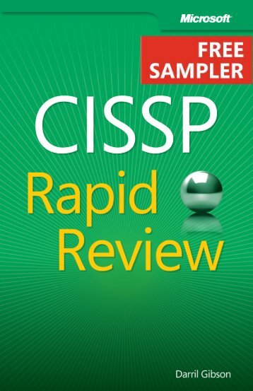 CISSP Rapid Review - Cdn.oreilly.com