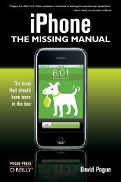 iPhone THE MISSING MANUAL - Cdn.oreilly.com
