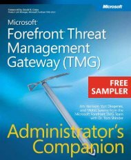 Microsoft Forefront Threat Management Gateway ... - Cdn.oreilly.com
