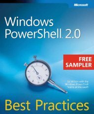Windows PowerShell 2.0 Best Practices eBook - Cdn.oreilly.com - O ...