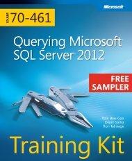Training Kit (Exam 70-461): Querying Microsoft ... - Cdn.oreilly.com
