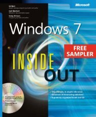 Windows 7 Inside Out - Cdn.oreilly.com