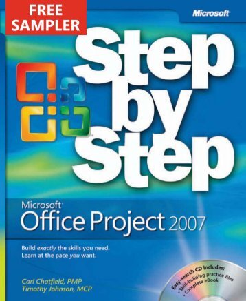 Microsoft Office Project 2007 Step by Step eBook - Cdn.oreilly.com