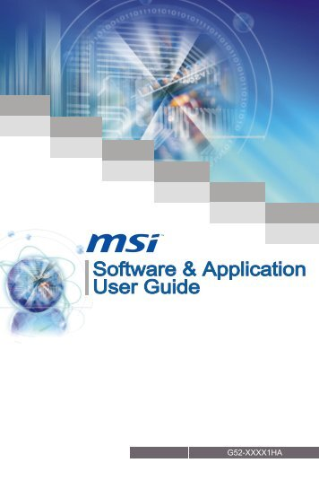 Software & Application User Guide - Xpress Platforms