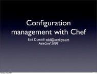 Configuration management with Chef - Cdn.oreilly.com