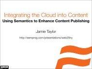 Integrating the Cloud into Content_ Using ... - Cdn.oreilly.com