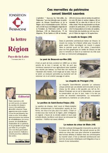 Télécharger le document (PDF) - Fondation du Patrimoine