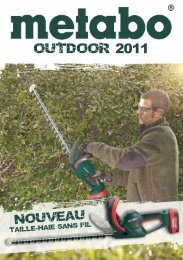 outdoor 2011 - Metabo