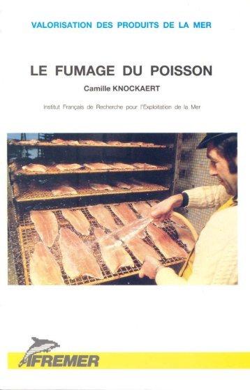 Le fumage du poisson - Archimer, archive institutionnelle de l'Ifremer