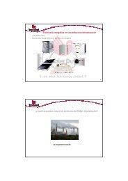Eficiencia energética en la calefacción/climatización