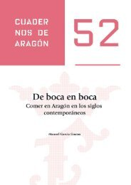 De boca en boca. Comer en Aragón en los siglos contemporáneos