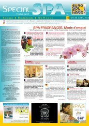SPA FRAGRANCES, Mode d'emploi - Eurospapoolnews.com