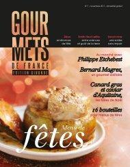 de la Une soirée sans impair - Gourmets de France