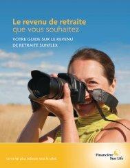 Le revenu de retraite que vous souhaitez - Sun Life Financial