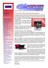 Update Issue 18 - 8 November 2012 - Lutheran Schools Association ...