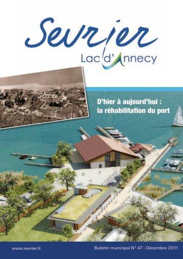 Bulletin municipal n°47 - Décembre 2011 - Sevrier