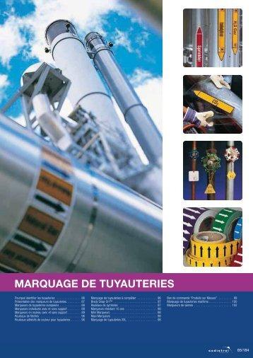 MARQUAGE DE TUYAUTERIES - Sodistrel